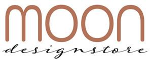 MOON designstore ruskea logo.